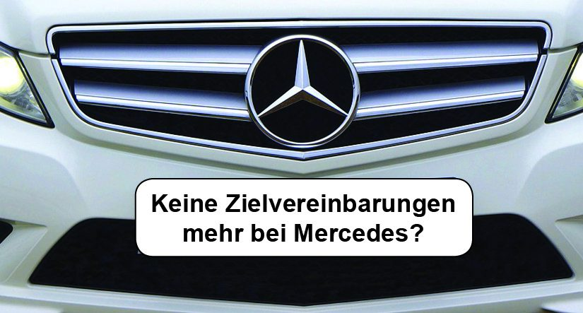 Zielvereinbarung Mercedes