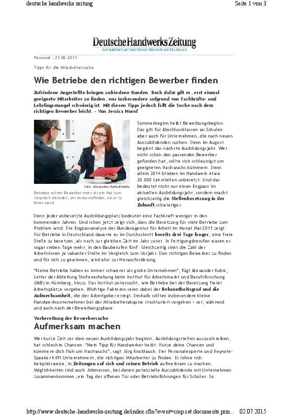 20150625- -www.deutsche-handwerks-zeitung.de-Wie Betriebe den richtigen Bewerber finden-thumbnail